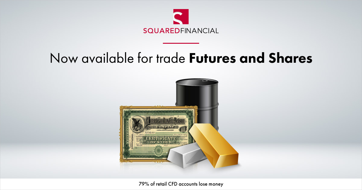 SquaredFinancial adds Futures & Shares