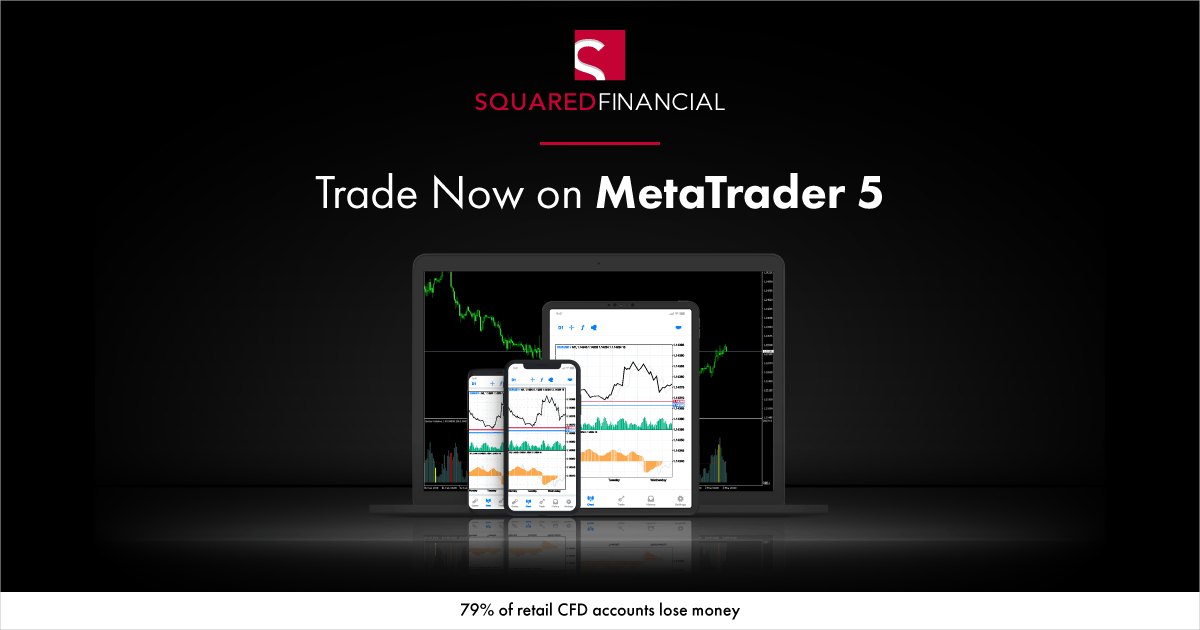 SquaredFinancial Adds MetaTrader 5 to its offering