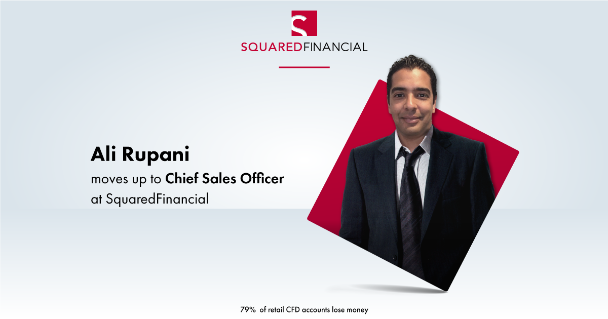 Ali Rupani moves up to Chief Sales Officer at SquaredFinancial