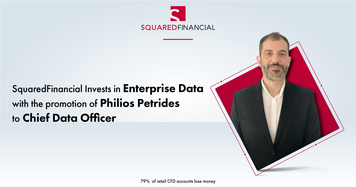 SquaredFinancial Invests in Enterprise Data with the promotion of Philios Petrides to Chief Data Officer
