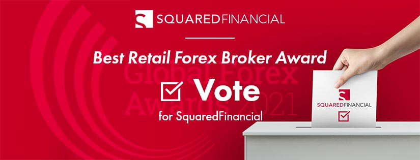 SquaredFinancial nominated for the Best Retail Forex Broker Award