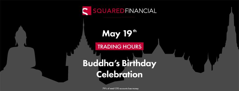 Buddha's Birthday Celebration Trading Hours