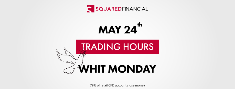 Whit Monday - Trading Hours