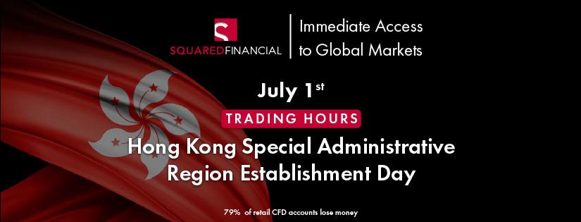Hong Kong Special Administrative Region Establishment Day - Trading Hours
