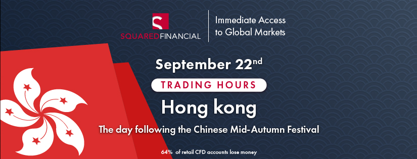 Chinese Mid-Autumn Festival - Trading Hours