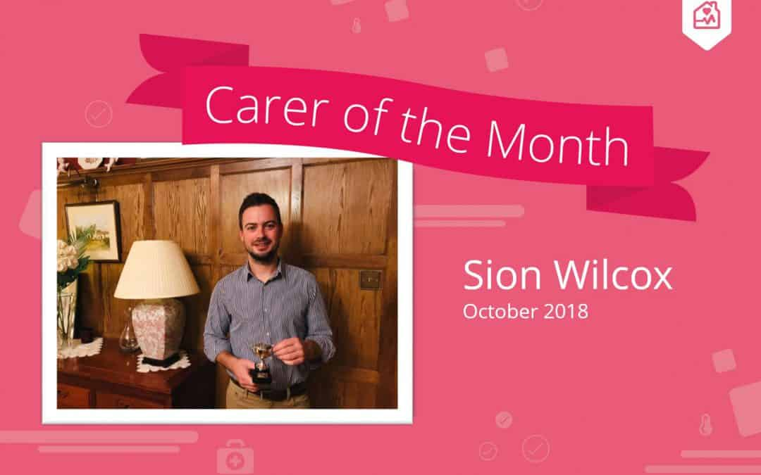 Carer of the month – October 2018
