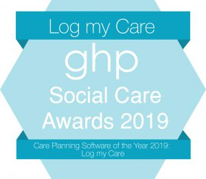 Log my care - care home software of the year
