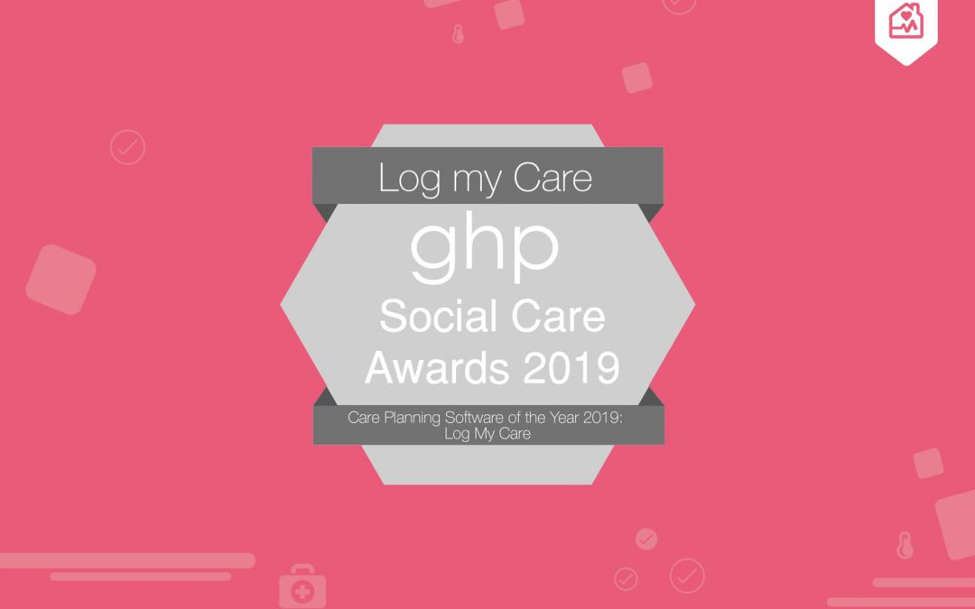 Log my Care wins care planning software of the year!
