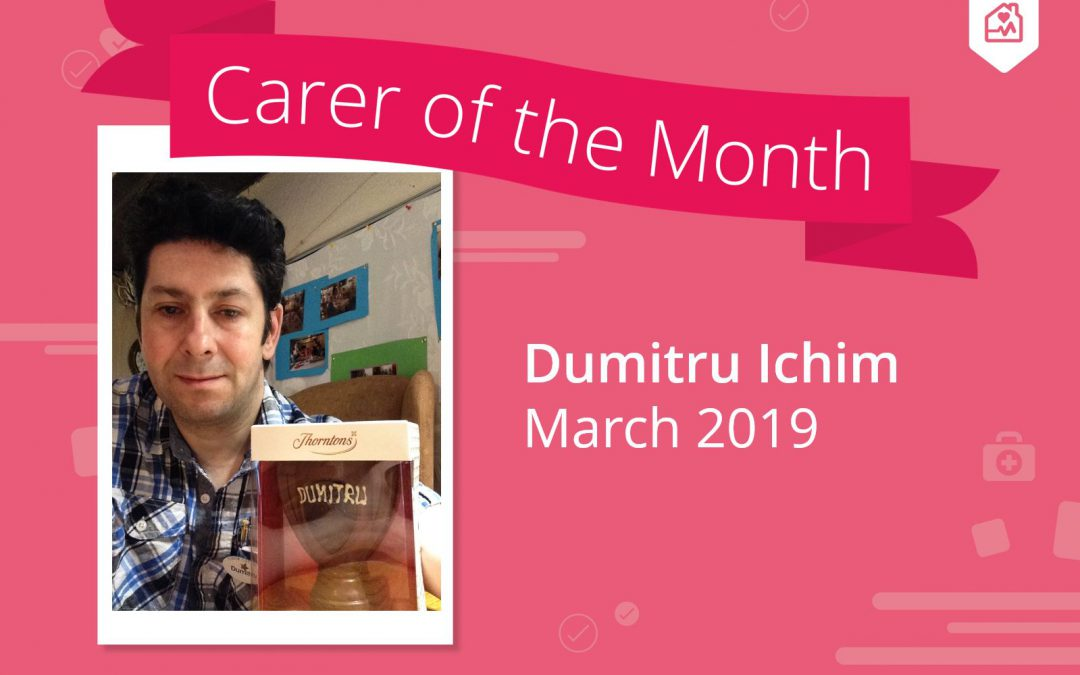 Carer of the month – March 2019