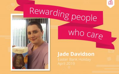 Rewarding people that care – Easter 2019