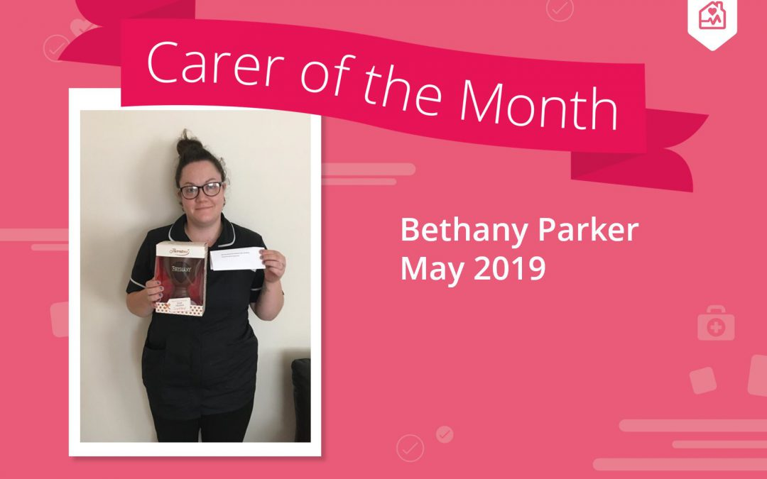 Carer of the month – May 2019