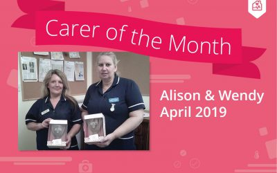 Carer of the month – April 2019