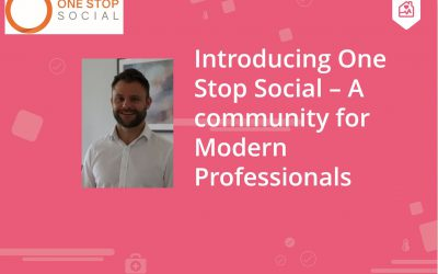 Introducing One Stop Social: A Community for Modern Care Professionals