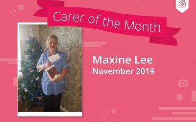 Carer of the month – November 2019