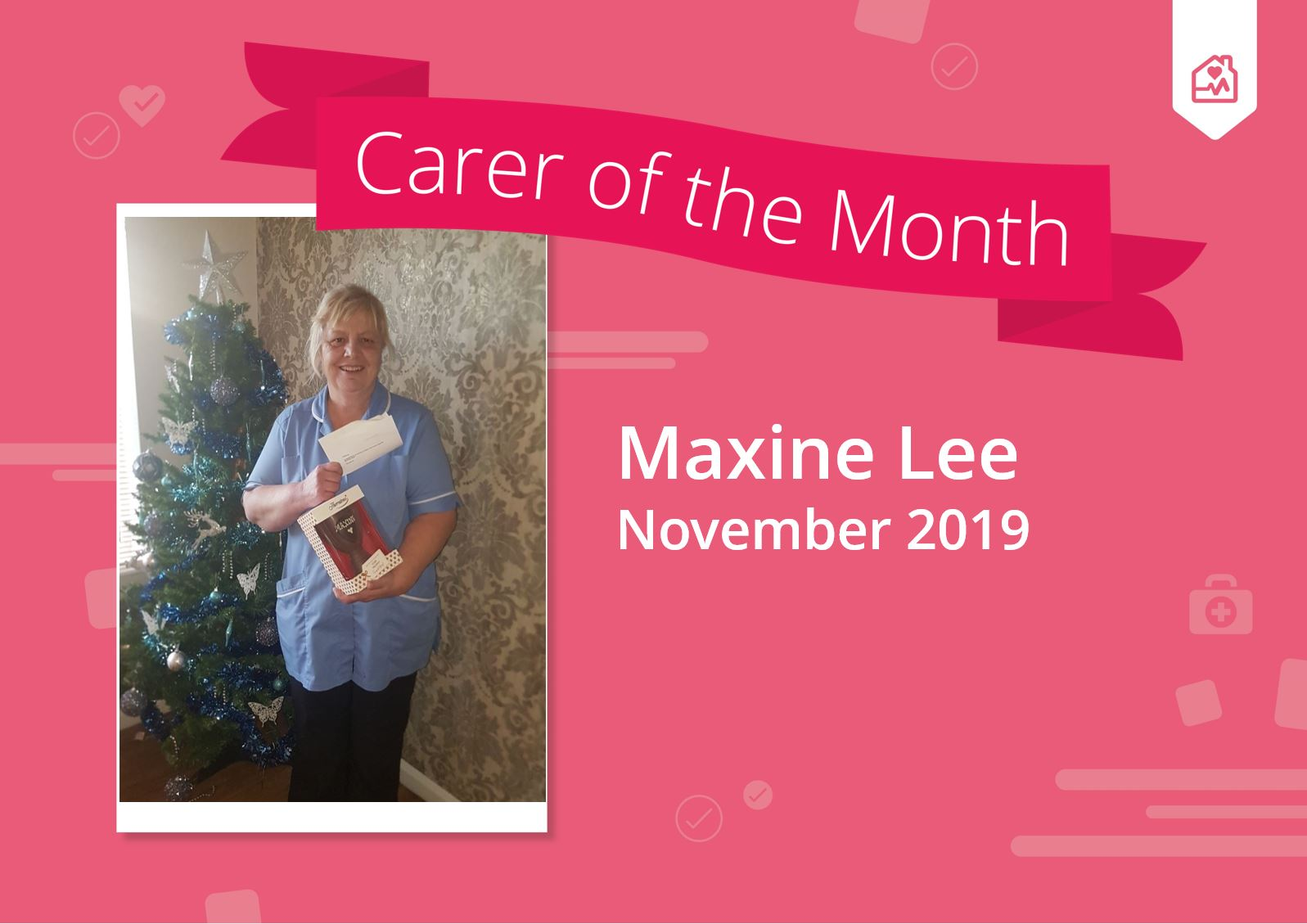 Carer of the month 2018 Debbie Jawo