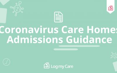 Coronavirus Care Homes Admissions Guidance