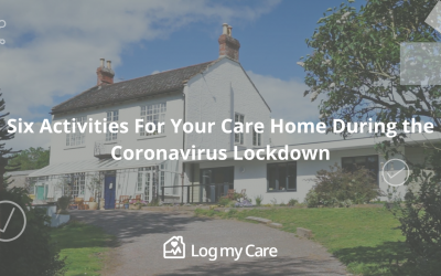 Care home activities during COVID-19 lockdown