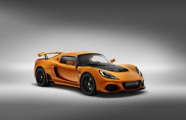 Lotus Exige 20th Anniversary Chrome Orange
