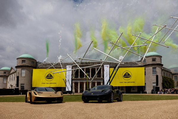 Lotus at Goodwood Festival of Speed 2021