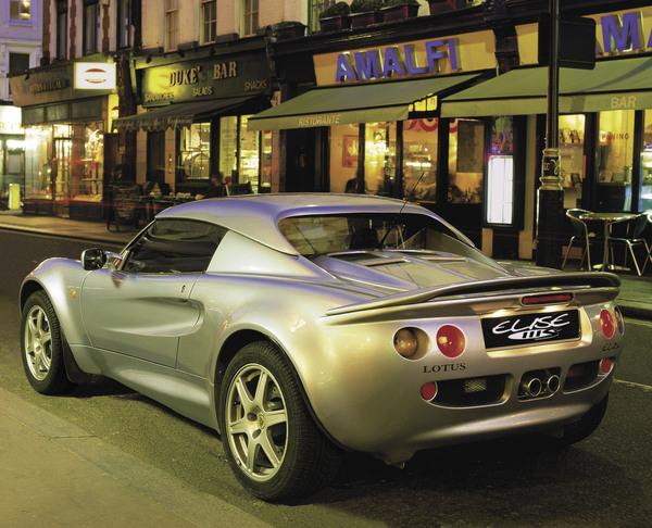 Lotus Elise 111s rear