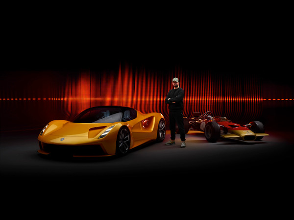 Patrick Patrikios Lotus Evija and Lotus Type 49