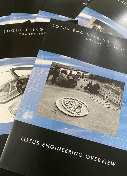 Celebrating 40 years of Lotus Engineering