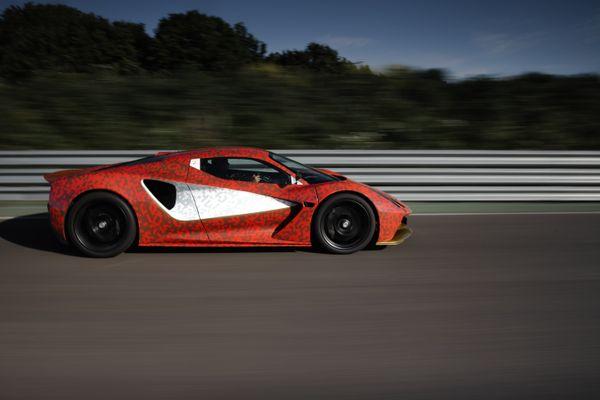 Lotus Evija development car