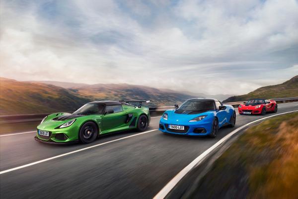 Lotus retail sales performance 2020