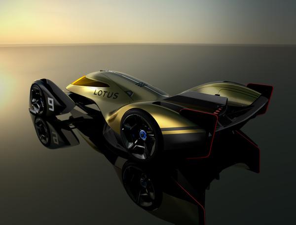 Lotus E-R9 endurance racer