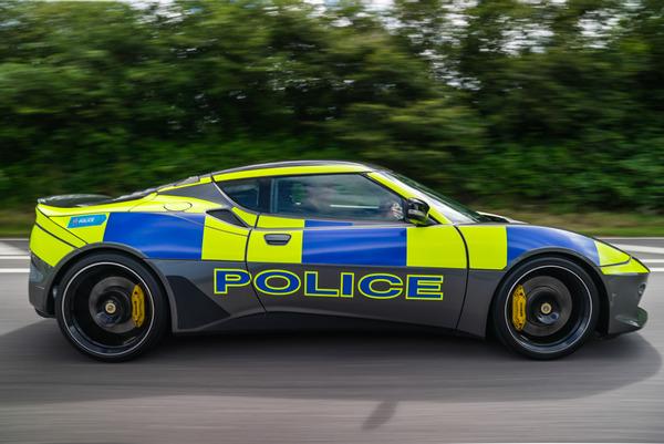 Lotus Evora, Devon and Cornwall Police. Photo Credit: Xpresmedia Fourthscene