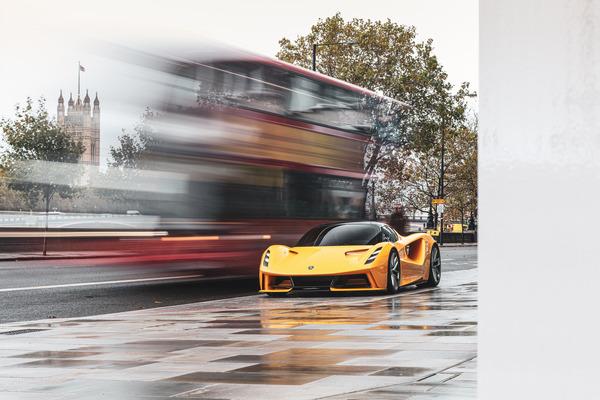 Lotus Evija wins prestigious design award