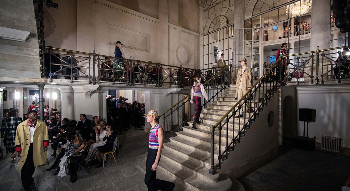Burberry fashion exhibition