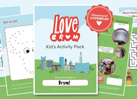 LoveBrum Kid's Activity Pack
