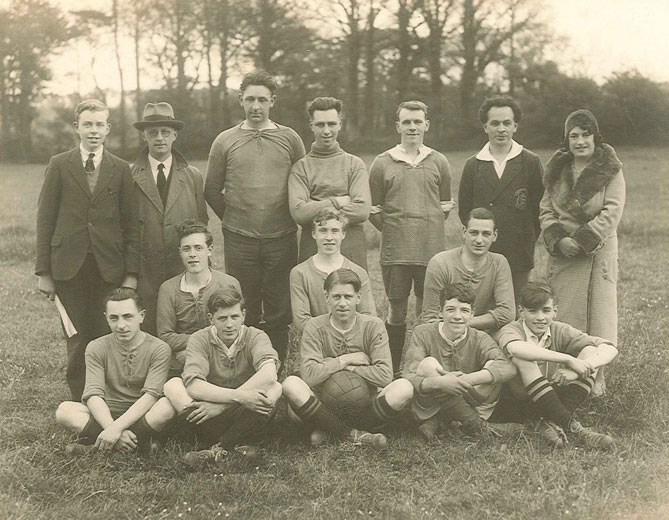 Lovells Factory XI, Football Team, 1930