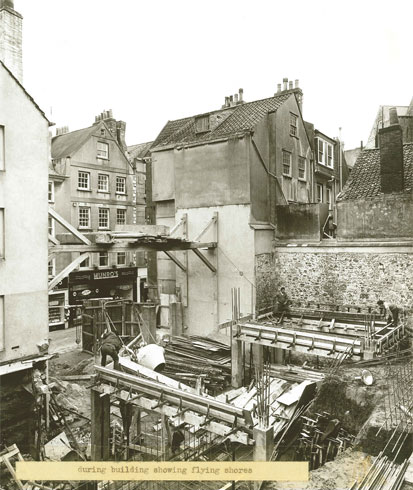Lovells Le Pollet Construction c.1950
