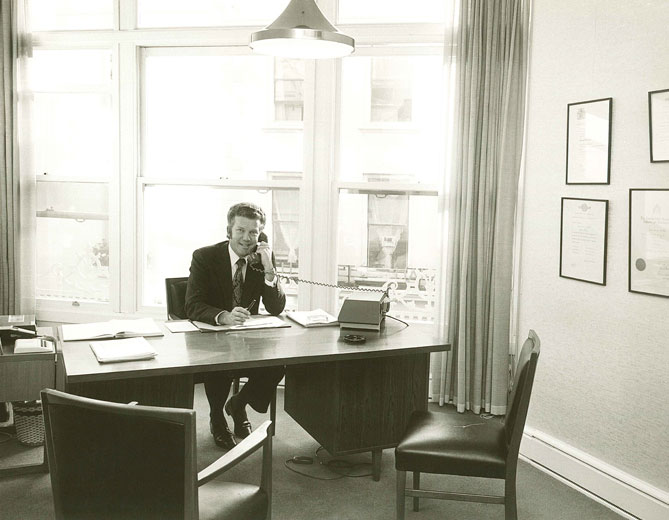 Ben Lovell At Work c.1965