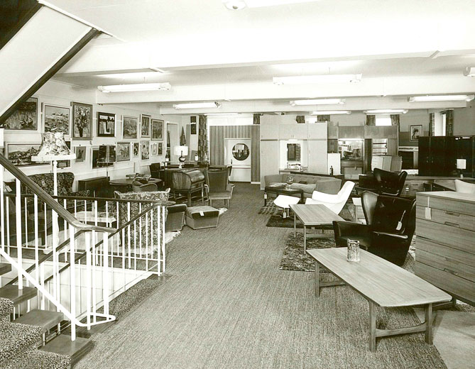 Lovells Furniture Dept. c.1960