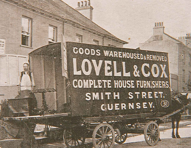 Furniture delivery c.1895