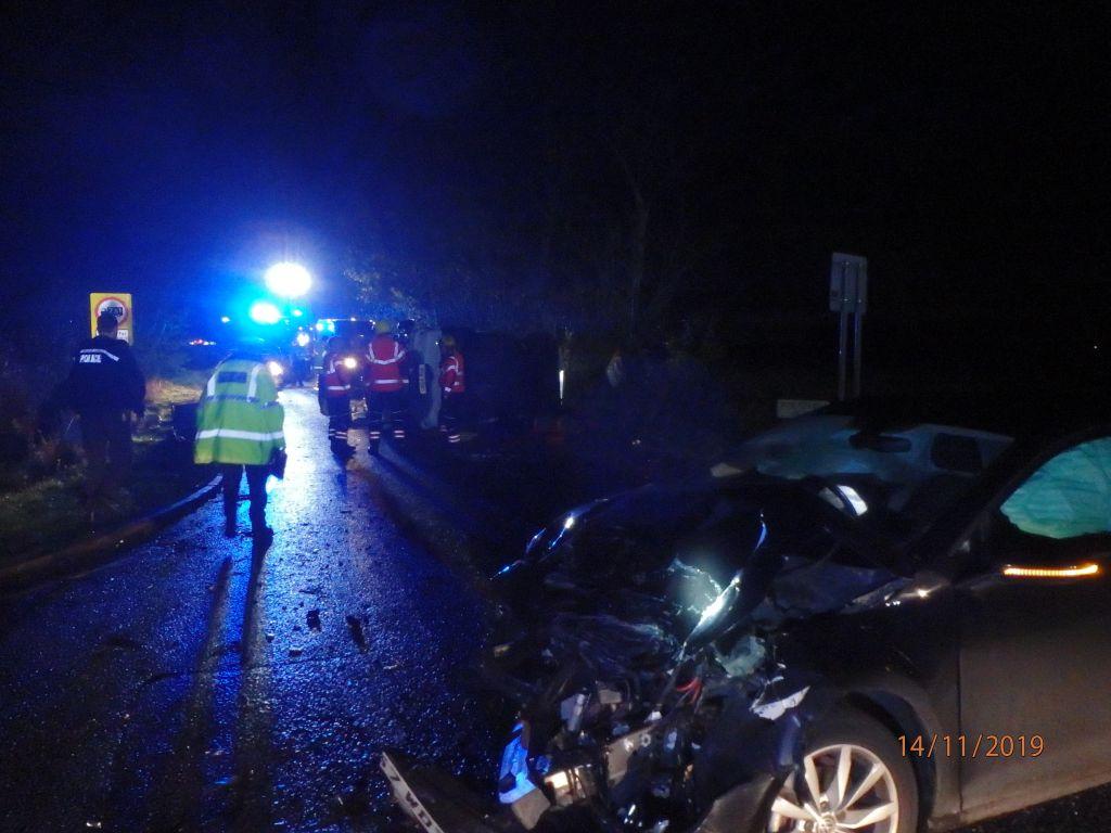 Serious incident minibus vs car collision 2
