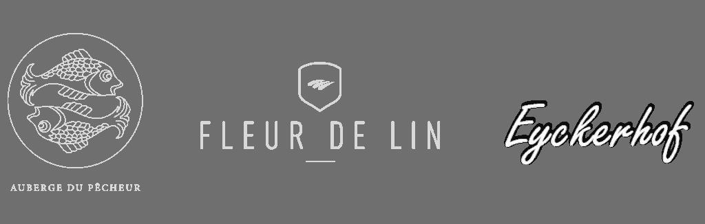 """Logo """"Fleur de Lin"""" en """"Eyckerhof"""""""