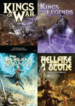 Kings of War 1st Edition Collection Digital