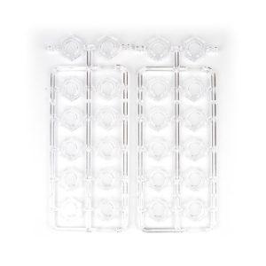 Bases Plastic Hex Frame (24)