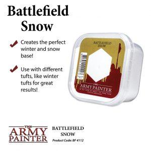 Army Painter Battlefields Snow