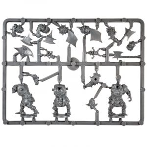 Plastic Frame Orc Ax Troop
