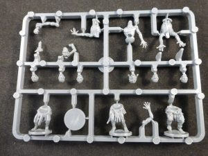 Plastic Frame Undead Zombies