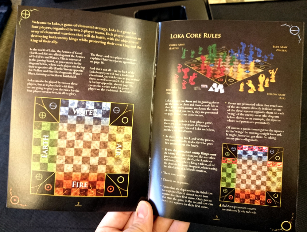 The rulebook is clear, concise and well-written. You'll be able to digest it in no time and get playing within minutes of opening the box!