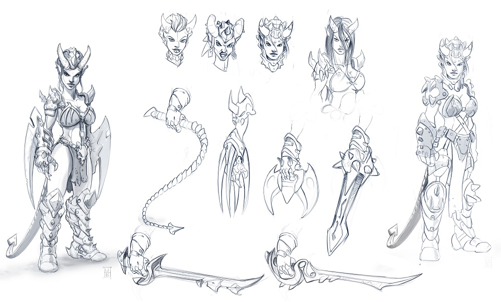 Abyssal Succubus variants