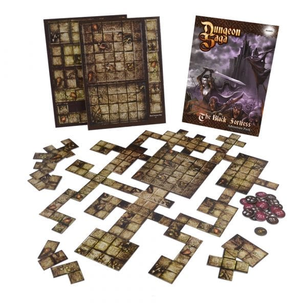 Dungeon Saga: The Black Fortress