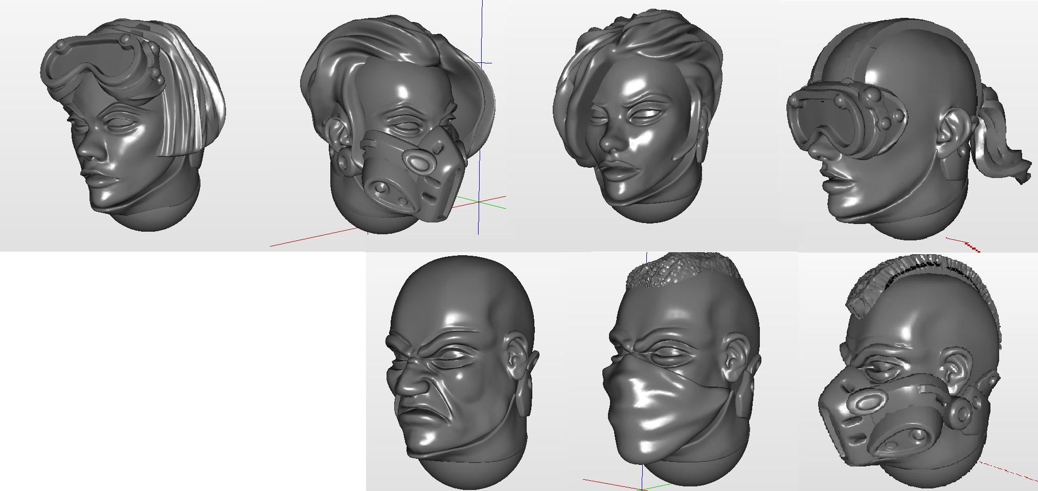 DZI-heads