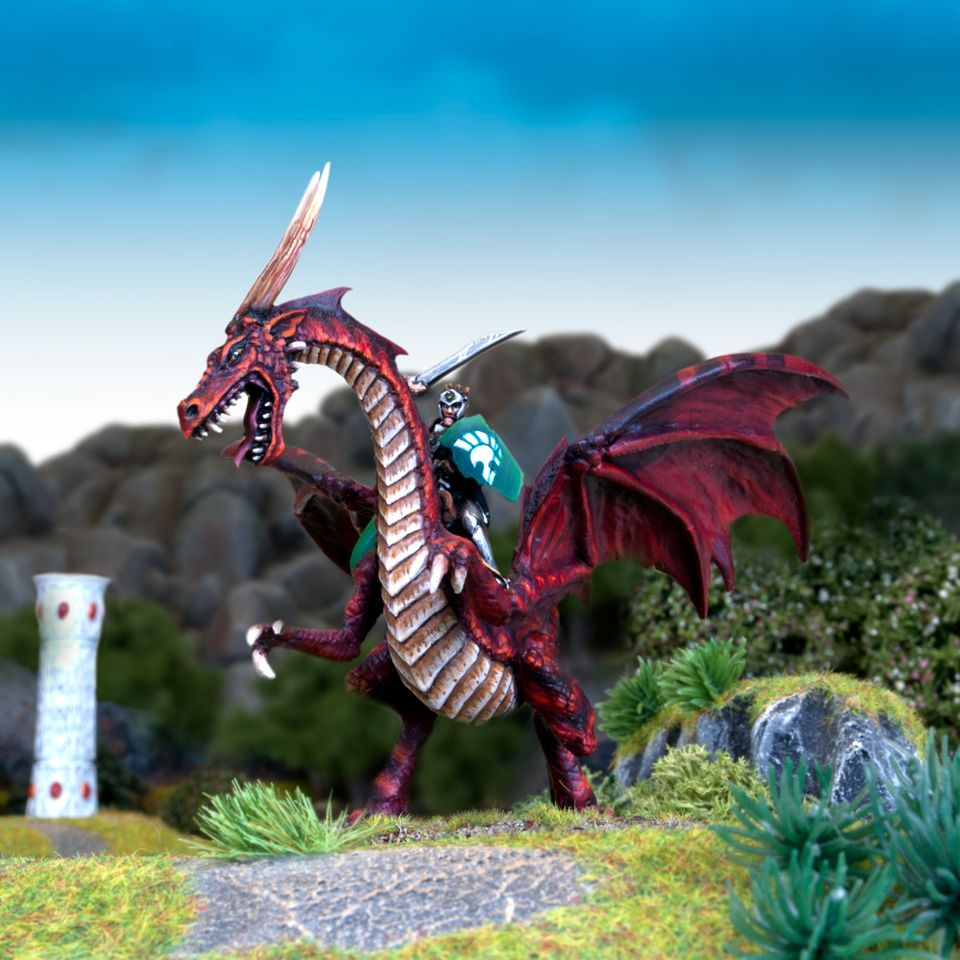 Including the Elf Lord on Dragon!